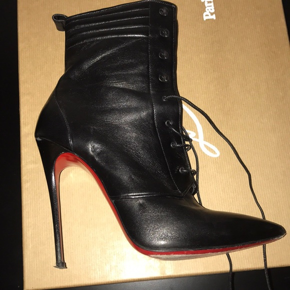 online retailer e7bb8 70f5d CHRISTIAN LOUBOUTIN Boot. As Seen On Kylie Jenner!